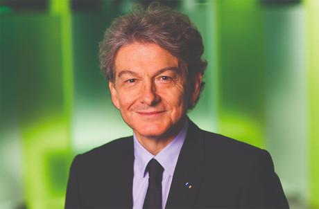 Ancien ministre de l'Économie, Thierry Breton est l'actuel PDG du groupe Atos. (Photo: Atos)