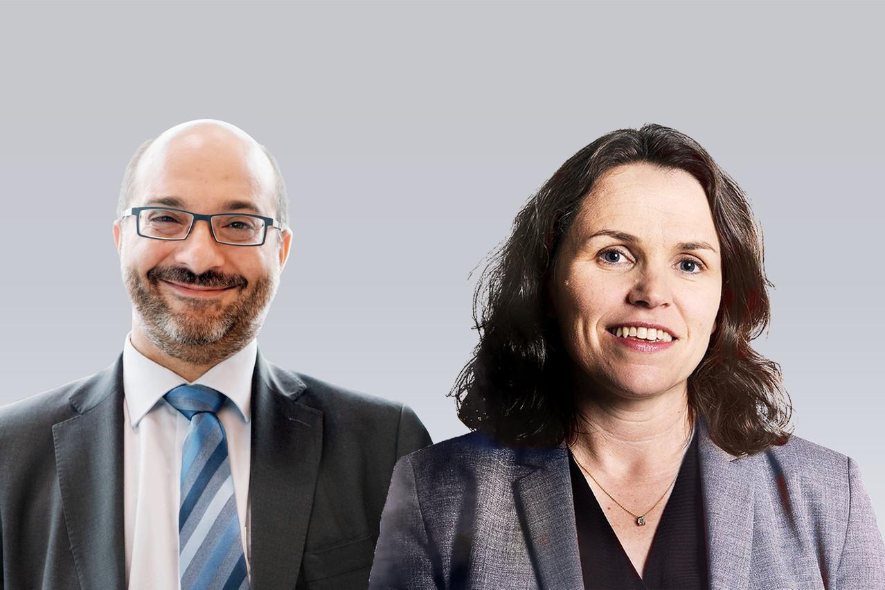 Evelyn Maher et Antonios Nezeritis répondent à trois questions. (Montage: Maison Moderne)