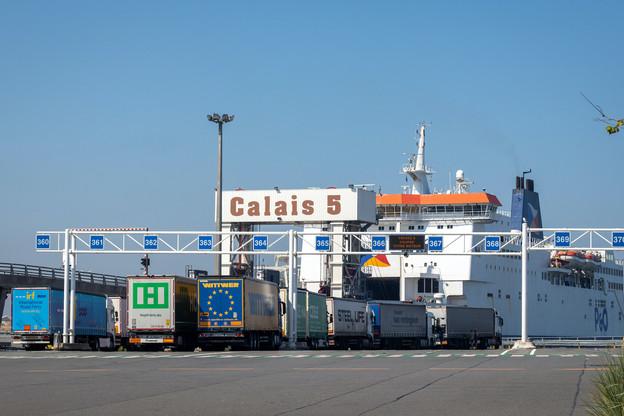 Plusieurs milliers de poids lourds traversent la Manche chaque jour, vers et depuis le Royaume-Uni. (Photo: Shutterstock)