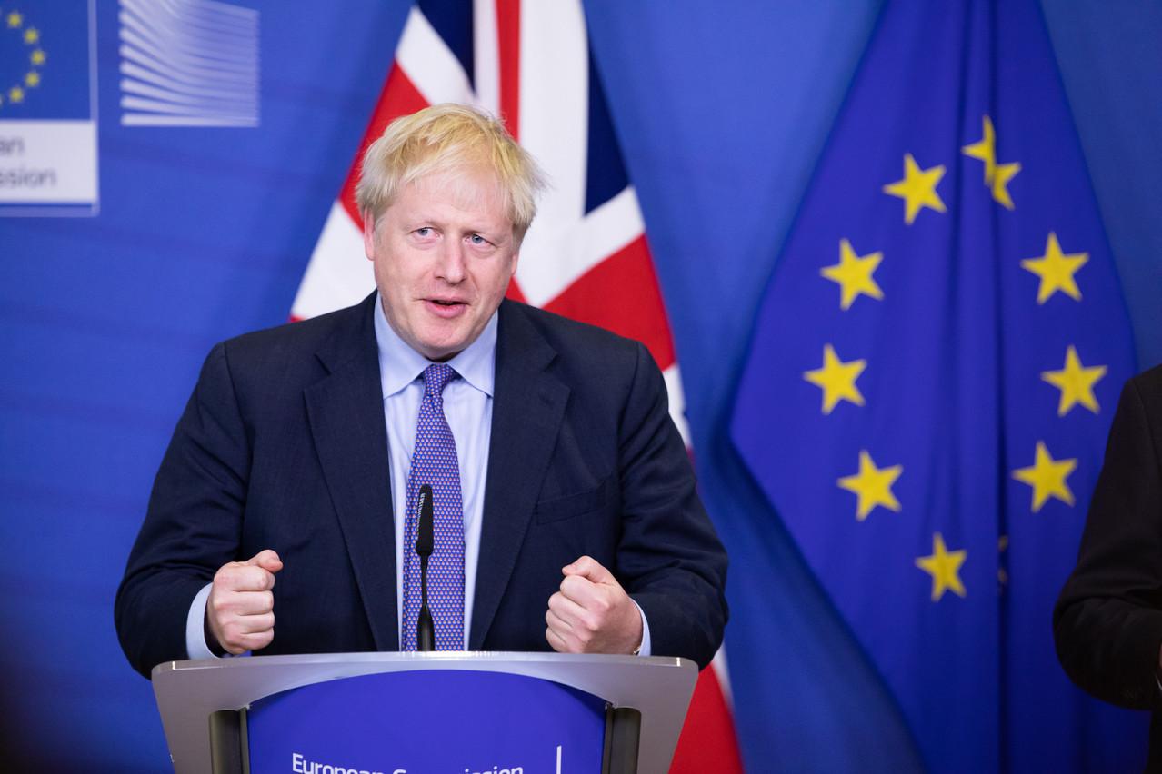 Jeudi à Bruxelles, Boris Johnson caressait encore l'espoir de convaincre samedi les députés britanniques de se prononcer en faveur de l'accord trouvé avec l'UE. (Photo: Commission européenne/Services audiovisuels)