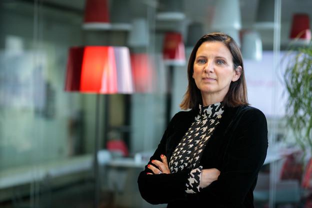 Angélique Sabron, nouvelle directrice de JLL Luxembourg. (Photo: Matic Zorman/Maison Moderne)