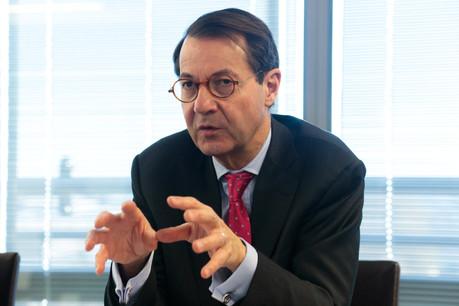 BrunoColmant a mené une mission de transition de près de deux ans à la tête de la banque Degroof Petercam. (Photo: Matic Zorman/Maison Moderne)