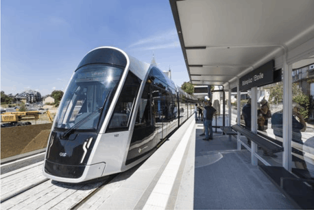 Lundi, le ministère de la Mobilité et les autorités de la Ville de Luxembourg ainsi que la direction de Luxtram présenteront la prochaine étape de la construction du réseau du tram. (Photo: Caroline Martin / Archives)