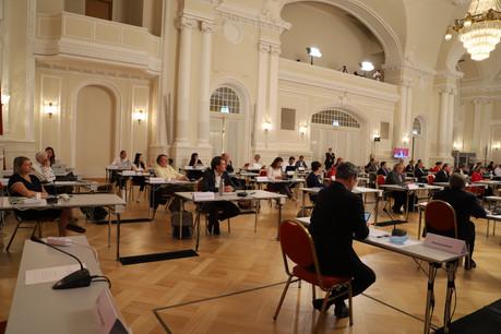 Les députés retrouvent le Cercle Cité pour une session dont les points forts seront le débat sur la gestion financière de la crise sanitaire et la rentrée scolaire. (Photo : Chambre des députés)