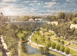 L'ensemble de la Vallée de la Pétrusse va être réaménagé. ((Illustration: Ville de Luxembourg))