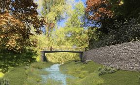 De nouveaux ponts vont être construits. ((Illustration: Ville de Luxembourg))