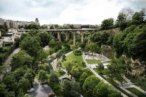 Plusieurs zones récréatives vont être réaménagées. ((Illustration: Ville de Luxembourg))