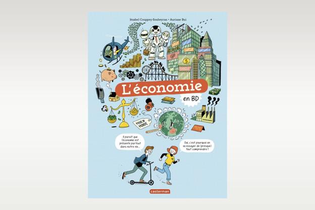 L'objectif de l'auteur, également économiste, consiste à sensibiliser un jeune public (de 10 à 15 ans) aux différentes problématiques liées à l'économie.  (Photo: Casterman)