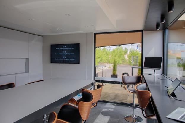 Des espaces de travail qui s'adaptent aux besoins des travailleurs: c'est le bureau de demain. (Photo: Matic Zorman)