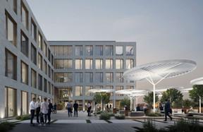 La terrasse sera à la fois un lieu de détente et de travail à ciel ouvert. ((Illustration : Panoptikon))