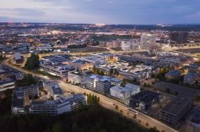 Le bâtiment se trouve dans le quartier de la Cloche d'Or, à Luxembourg. ((Illustration: Panoptikon))