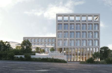 À la place de l'ancienne quincaillerie Printz se tiendra un immeuble de bureaux dont l'architecture a été confiée à M3 Architectes. (Illustration: Panoptikon)