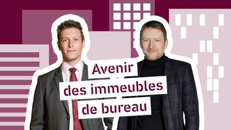 Julien Pillot, Head of Office Agency d'INOWAI, et Tom Beiler, architecte associé de BeilerFrançoisFritsch Crédit : montage Maison Moderne