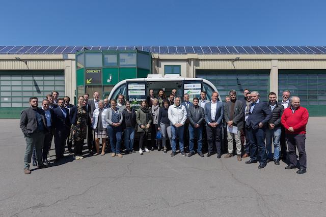 37 experts de sept pays et 16 sociétés ou institutions de recherche sont réunis pour trois jours au Luxembourg pour faire avancer le projet Avenue. (Photo: Romain Gamba)