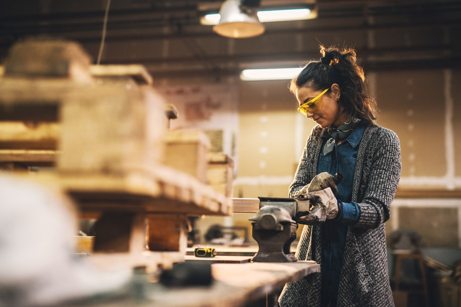There were3,624 applications for business permits in the craft sector in 2020 compared to 3,507 in 2019 Shutterstock
