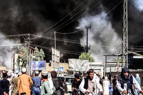 Kaboul, Afghanistan, le 18 août 2021. (Photo: John Smith/Shutterstock)