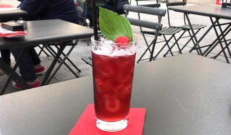 Un cocktail gourmand au gin et à la bière: c'est le «Basil Instinct» d'Axel Joyau. (Photo: Axel Joyau)