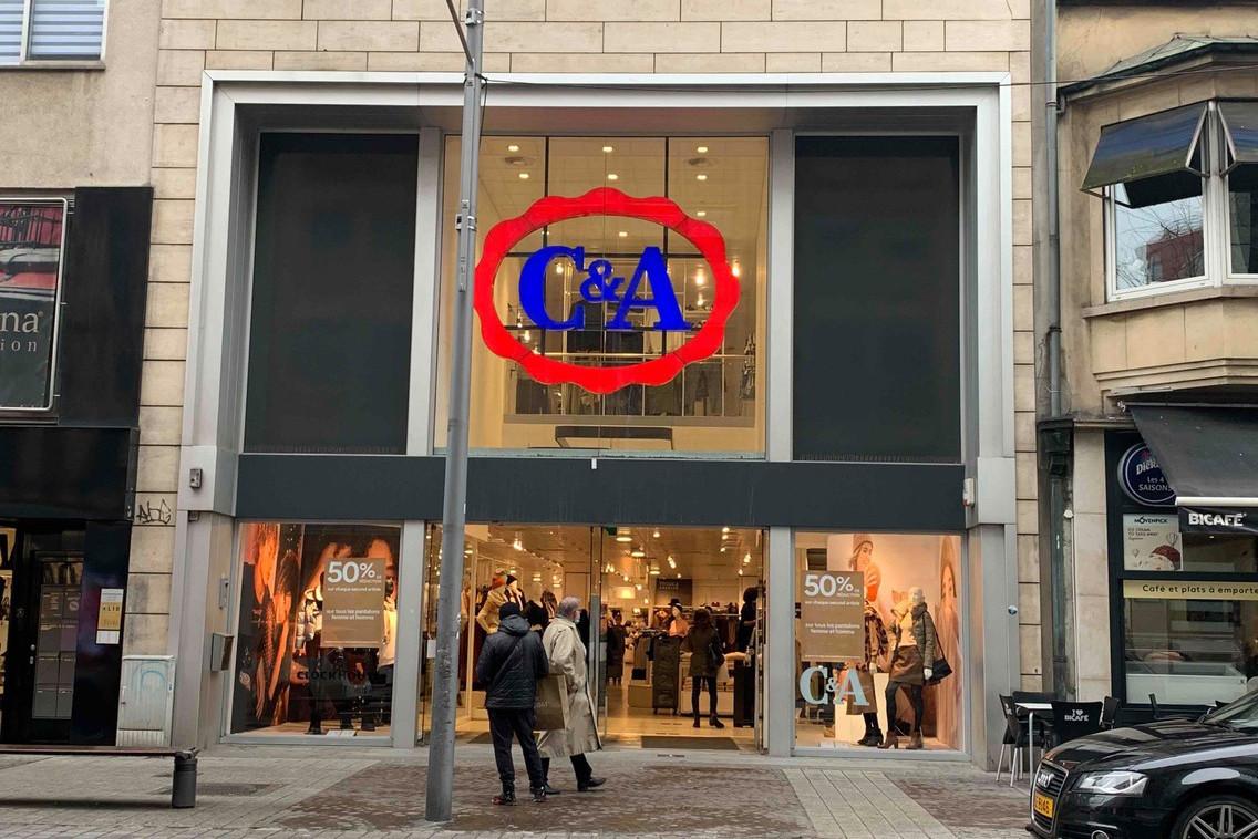 Le magasin de deux niveaux est le dernier point de vente de C&A sur le territoire de Luxembourg-ville. (Photo: Maison Moderne)