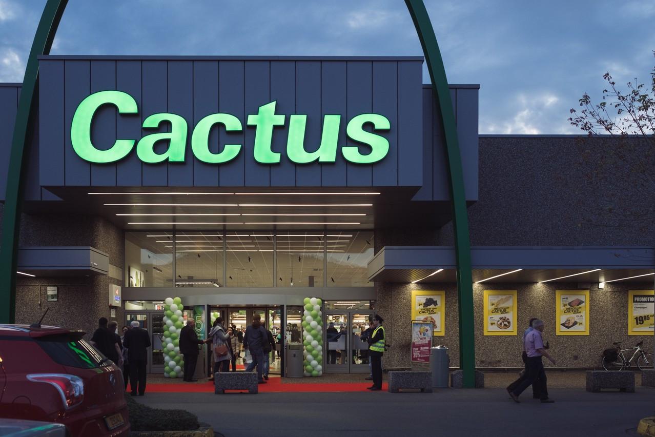 Le groupe Cactus a fait un geste, lundi soir, pour ses employés, qui continuent de préparer les points de vente pour accueillir les consommateurs. (Photo: Paperjam)