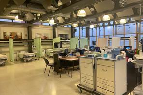 La cafétéria du Chem à Esch-sur-Alzette accueillera les patients de l'hôpital de jour et ce dernier les patients Covid-19. (Photo: Chem)