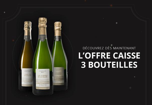 Caisses 3 Bouteilles de Champagne d'Auteur! (Photo: Craft et Compagnie)