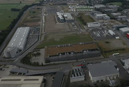 L'incubateur jouxtera les installations de Goodyear et IEE. (Photo: capture d'écran/vidéo Paperjam)