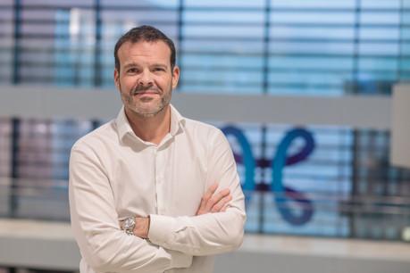 Hugues Stiernon, department manager chez Telecom Solutions, Telindus (Photo: Matic Zorman / Maison Moderne)