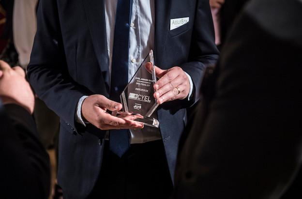 La 12e édition du concours Cyel, l'an passé, a récompensé les cofondateurs de la start-up Klin. (Photo: Anthony Dehez/Archives)