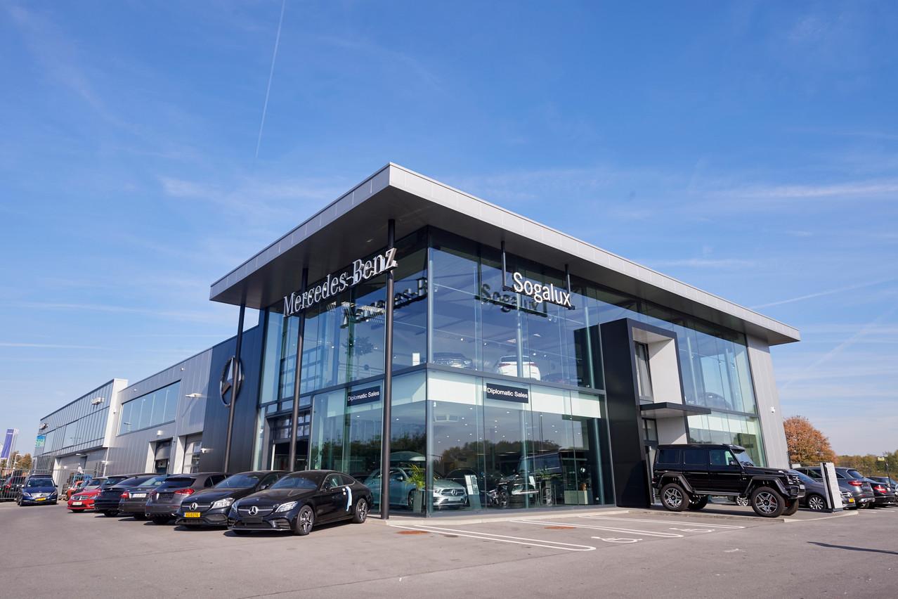 Car Avenue dispose désormais de sept concessions Mercedes-Benz en Wallonie, dont Arlon. (Photo: Car Avenue)