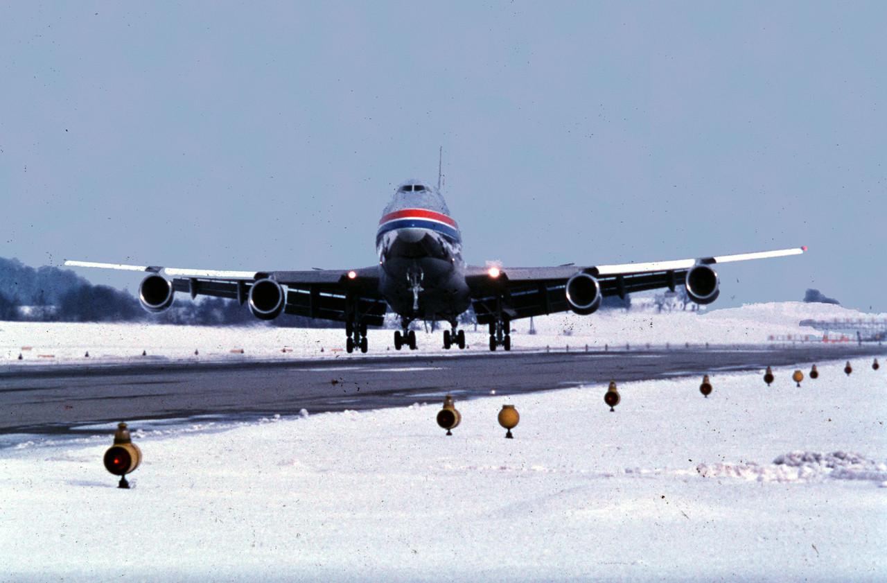Le premier Boeing 747-200F arrive au Luxembourg en 1979. Une rupture dans l'histoire de la compagnie. (Photo: Cargolux)