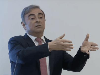 L'ex-homme fort de l'alliance Renault-Nissan, Carlos Ghosn, a détaillé sa vérité. (Photo: Youtube / AFP / capture d'écran)