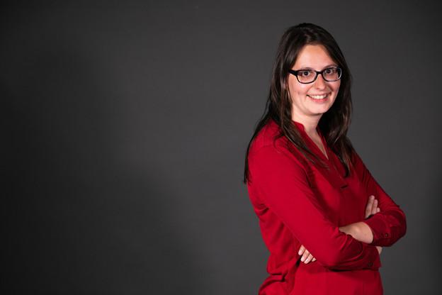 Porte-parole du parti Déi Lénk depuis 2014, Carole Thoma est ingénieur en ouvrage d'art. Et, en tant que salariée syndiquée à l'OGBL, elle est membre de la Chambre des salariés. (Photo: Matic Zorman / Maison Moderne)
