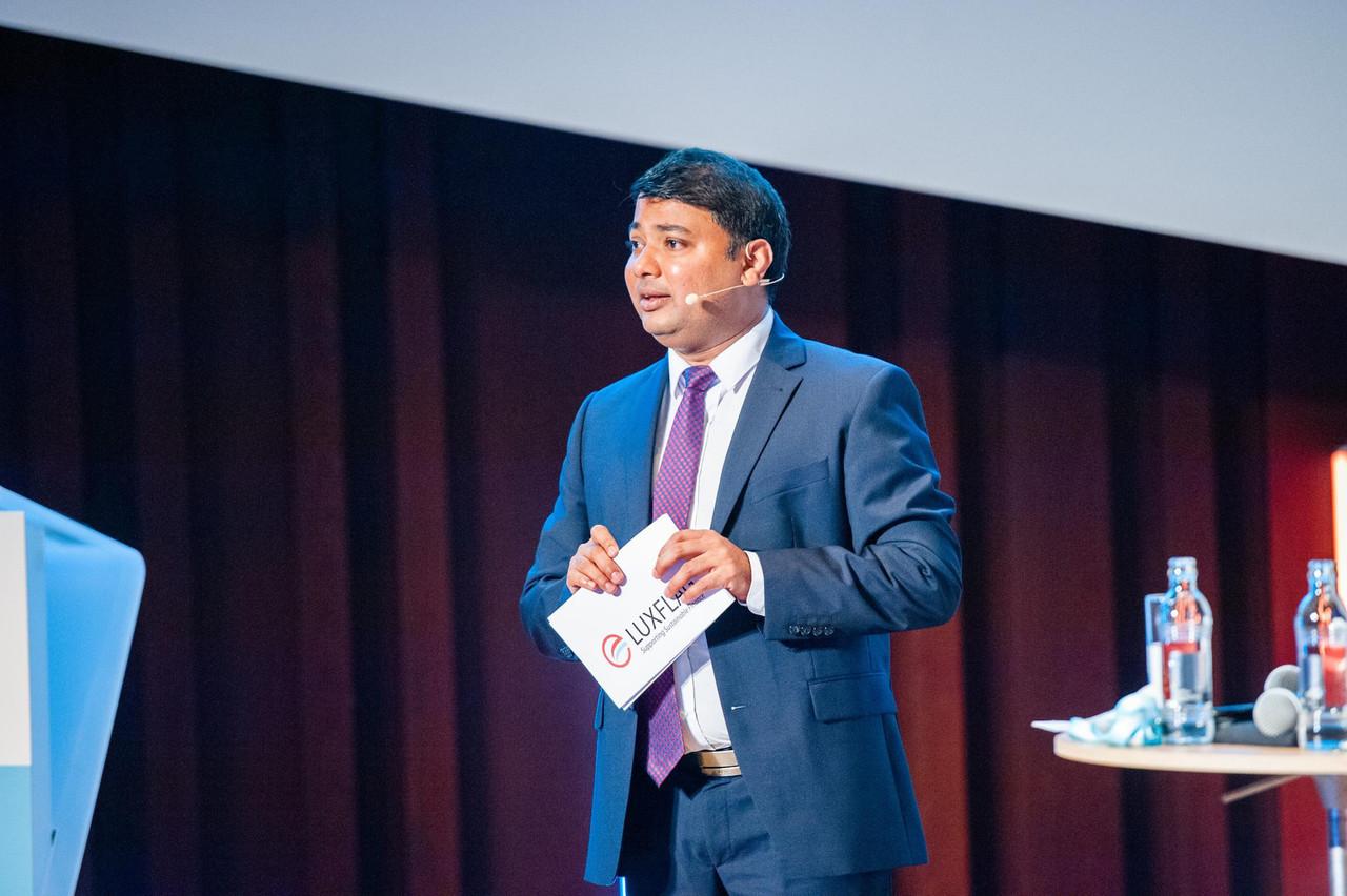 Pour Sachin Vankalas (Luxflag), «le secteur privé dans son ensemble a un rôle important à jouer, en particulier dans le secteur de la gestion d'actifs». (Photo: LaLa La Photo/Archives)