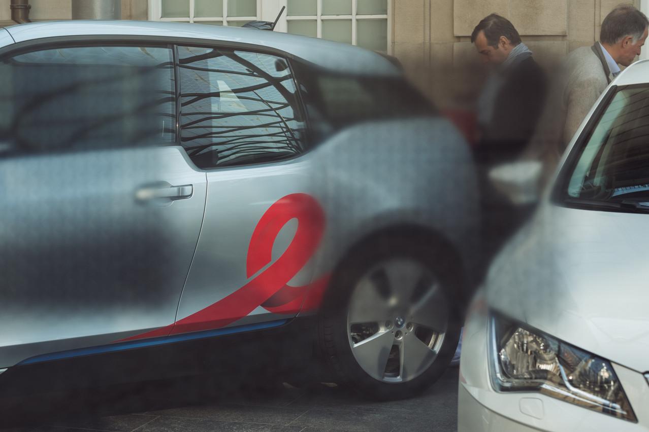 4.500 personnes se sont abonnées au service de carsharing proposé par Flex, qui dispose de 88véhicules répartis sur 47stations. (Photo: SG9LU/Archives)