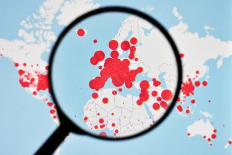 Une fois par semaine, les États membres actualiseront les données d'une carte qui permettra aux Européens de savoir s'ils peuvent se déplacer et dans quelles conditions. (Photo: Shutterstock)
