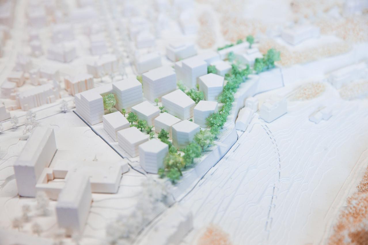 Vue de la maquette du projet. (Photo: EstherJansen)