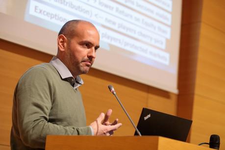 Raoul Mulheims s'est distingué par sa lecture de l'avenir de la banque de détail après l'entrée en vigueur de la directive PSD2. (Photo: Matic Zorman)