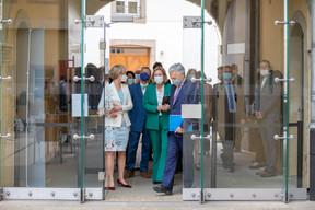 Karin Basenach, directrice du Centre Européen des Consommateurs, Paulette Lenert, ministre de la Protection des consommateurs et Didier Reynders, commissaire européen à la Justice. ((Photo: Romain Gamba/Maison Moderne))