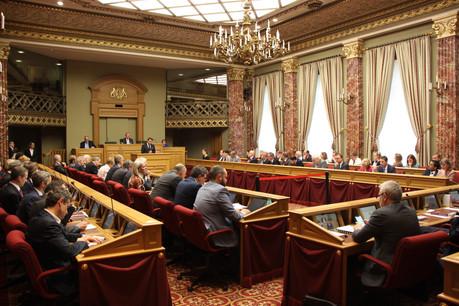 Les députés de la commission finances ont écouté les pétitionnaires. Une revendication de plus en amont de la réforme de l'imposition sur le revenu à laquelle s'attelle le ministère des Finances. (Photo: Chambre des députés)