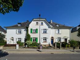 La première maison construite par la SNHBM, rue Michel Lentz à Luxembourg. (Photo: Christof Weber)