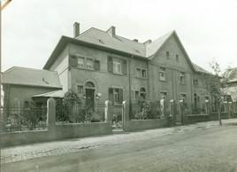 La première construction de la SNHBM à Esch-sur-Alzette, route de Mondercange. (Photo: SNHBM)