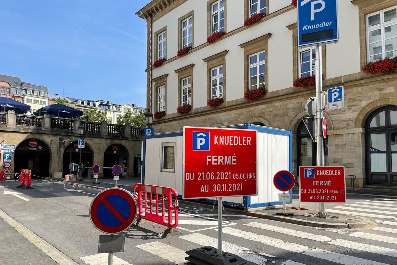 Le Knuedler (504 places) ne rouvrira pas avant le 1er décembre. (Photo: Paperjam)