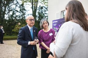 Jiro Okuyama (Ambassadeur of Japan to Luxembourg) Christophe Debailleul