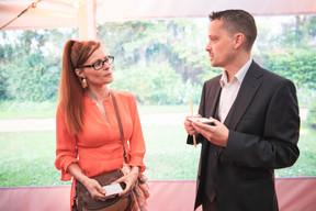 Sophie Ensel (So Graphiste) and Patrick Coehlo (Properties Solutions) Christophe Debailleul