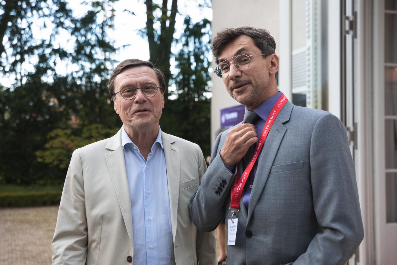 Wladimir de Kéchilava (Yours Business & Family Advisory) and Pierre-Yves Lanneau Saint Léger (Maison Moderne) Christophe Debailleul