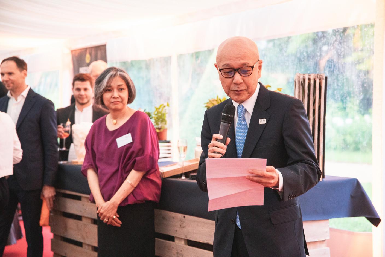Jiro Okuyama (Japan Ambassadeur to Luxembourg) Christophe Debailleul