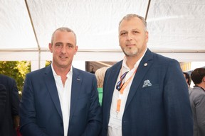 Josy Gloden (Domaines Vinsmoselle) et Petro Marchione (Groupe Marchione) ((Photo: Patricia Pitsch/Maison Moderne))