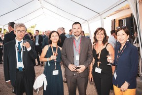 Christian Weill (MCW Conseil), Geneviève Chabot (Pami Lux), Mikael Spezzacatena (Maison Moderne), Catherine Papp (Key-Way) et Isabelle Weill (SC I&CW) ((Photo: Patricia Pitsch/Maison Moderne))