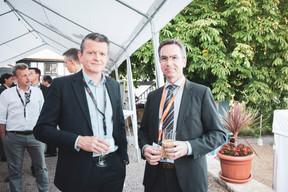 Xavier Orts (Remis) et Philippe Salomon (Berlitz) ((Photo: Patricia Pitsch/Maison Moderne))
