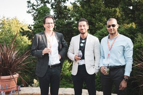 Julien Lecerf (Sextant Finance), Gregory Di Pompeo et Elmahdi Khokha (Impulse Fitness) ((Photo: Patricia Pitsch/Maison Moderne))